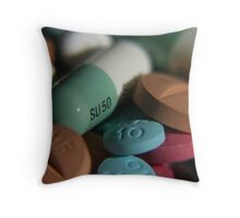 To alter the mind... Throw Pillow