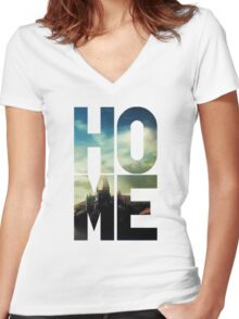 HP – Home Women's Fitted V-Neck T-Shirt
