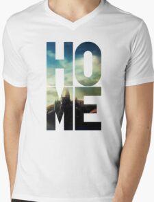 HP – Home Mens V-Neck T-Shirt
