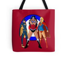 Batgirl, Wonder Woman and Supergirl - The New 52 (Target) Tote Bag
