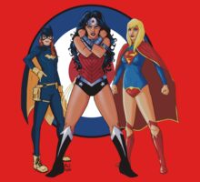 Batgirl, Wonder Woman and Supergirl - The New 52 (Target) T-Shirt
