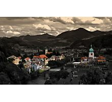 Little town Photographic Print