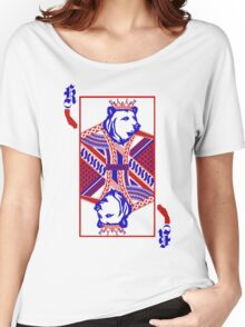 king of california patriotic  Women's Relaxed Fit T-Shirt