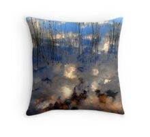 Up is Down... Throw Pillow
