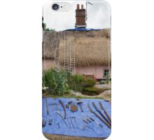 Thatching in progress iPhone Case/Skin