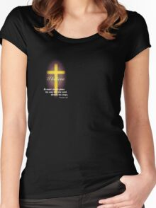 The Lord Directs Women's Fitted Scoop T-Shirt