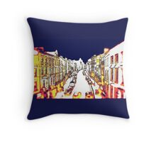 St Laurence Street Drogheda Throw Pillow