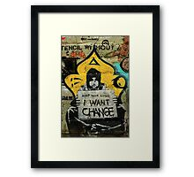 Street Art: global edition # 94 Framed Print