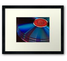 Abstract discs Framed Print