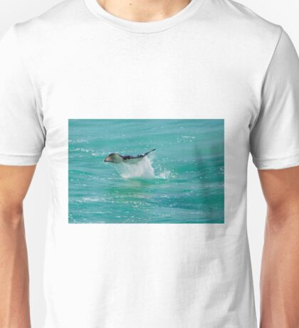 Manta Ray Leaping Unisex T-Shirt