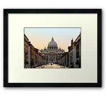 St. Peter's, Rome Framed Print