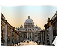 St. Peter's, Rome Poster