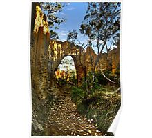 Golden Gully, Tambaroora - Larger arch Poster
