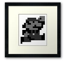 SuperMarioLand Jumping Framed Print