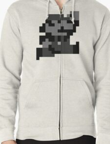 SuperMarioLand Jumping Zipped Hoodie