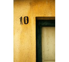 Ten Photographic Print
