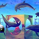 Dolpherian Playground by Lisa  Weber