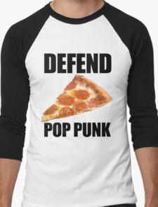 Defend Pop Punk! Men's Baseball ¾ T-Shirt