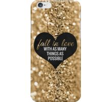 Fall In Love iPhone Case/Skin
