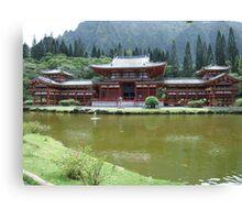 Buddha Temple 2 Canvas Print