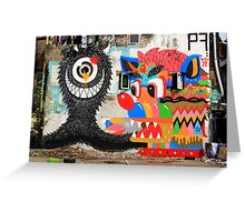 Street Art: global edition # 62 Greeting Card