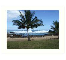 Hawaii Beach 10 Art Print