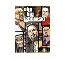 GTA Lebowski Art Print