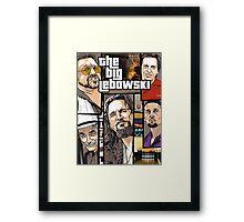 GTA Lebowski Framed Print
