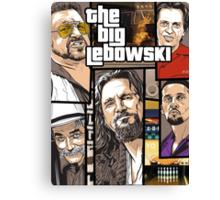 GTA Lebowski Canvas Print