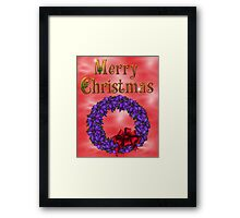 Merry Christmas 3 Framed Print