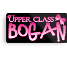 UPPER class bogan with girly bow Metal Print