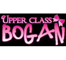 UPPER class bogan with girly bow Photographic Print