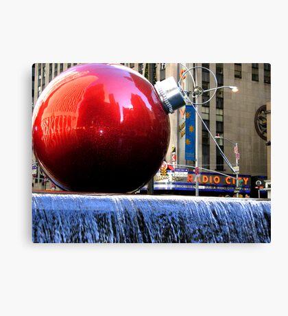 Big Red Ball Canvas Print
