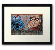 Street Art: global edition # 57 Framed Print