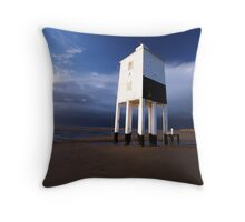 The Old Lighthouse Throw Pillow