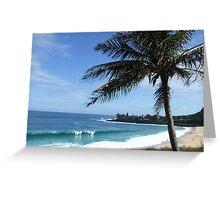 Hawaii Beach 13 Greeting Card