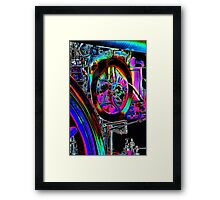 abstract engine Framed Print
