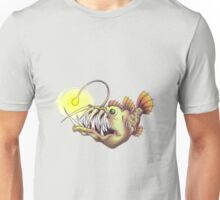 deep sea angler fish Unisex T-Shirt