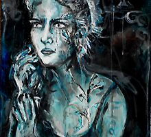 Blue Woman by marissaflorence