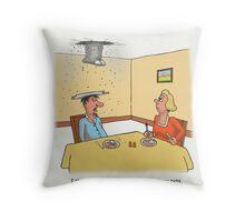 Sneaky neighbours. Throw Pillow
