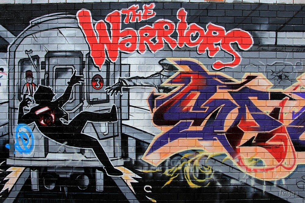 Street Art: global edition # 44 - Who are the Warriors? by fenjay