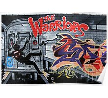 Street Art: global edition # 44 - Who are the Warriors? Poster