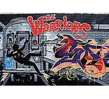 Street Art: global edition # 44 - Who are the Warriors? Photographic Print