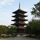 Kyoto - Toji Temple - 5 Storied pagoda by jess116
