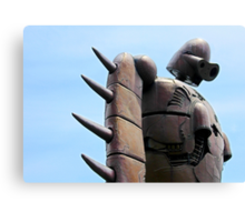 Japan Reloaded - Sky Robot Canvas Print