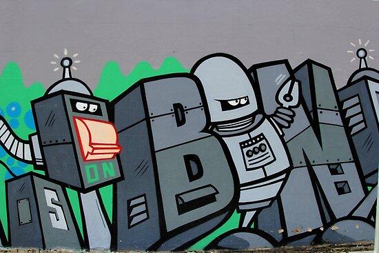 Street Art: global edition # 43 - Futurama by fenjay