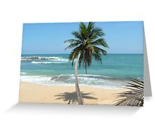South point of Sri Lanka  Greeting Card