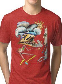 Alien War Tri-blend T-Shirt