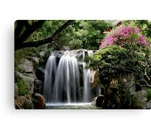 Chinese Garden - Darling Harbour, Sydney Canvas Print