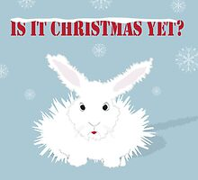White Rabbit - is it Christmas yet? by victoriawalkden